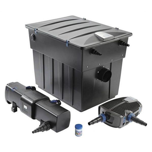 oase biotec screenmatic filter pump and uvc set