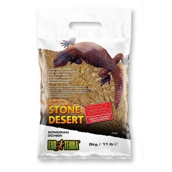 exo terra ocher stone desert substrate