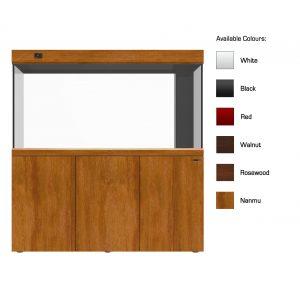 cleair pacific glass aquarium set with cabinet