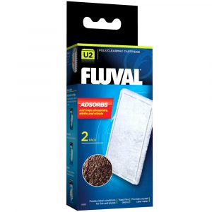 fluval u2 polycarbon filter foam