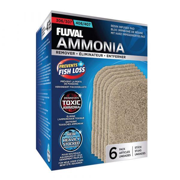fluval external filter ammonia filter pad