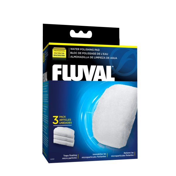 fluval external filter quick clear polishing pads