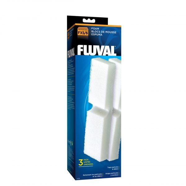 fluval external filter foams