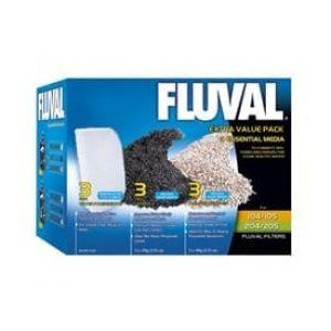 fluval value external filter media pack