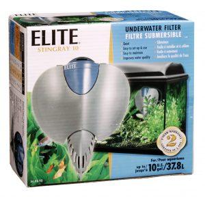 elite stingray 10 internal filter