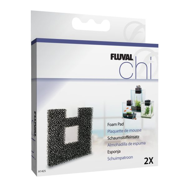 fluval chi replacement foam pad