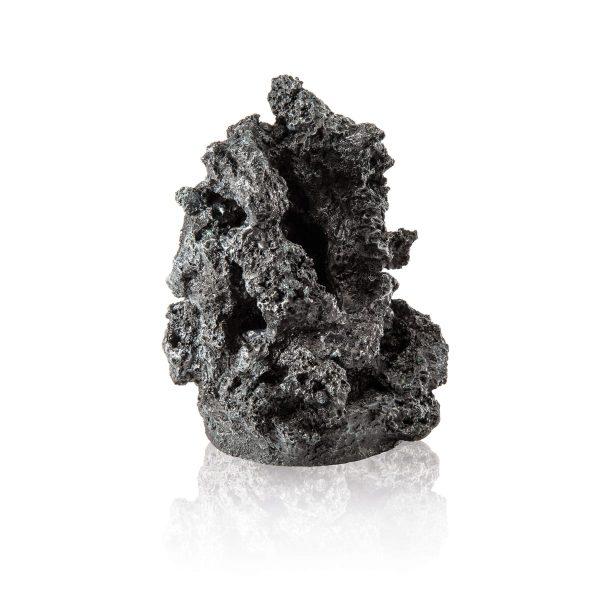 oase biorb aquarium mineral stone black ornament