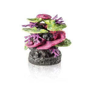 oase biorb aquarium coral ridge green purple ornament