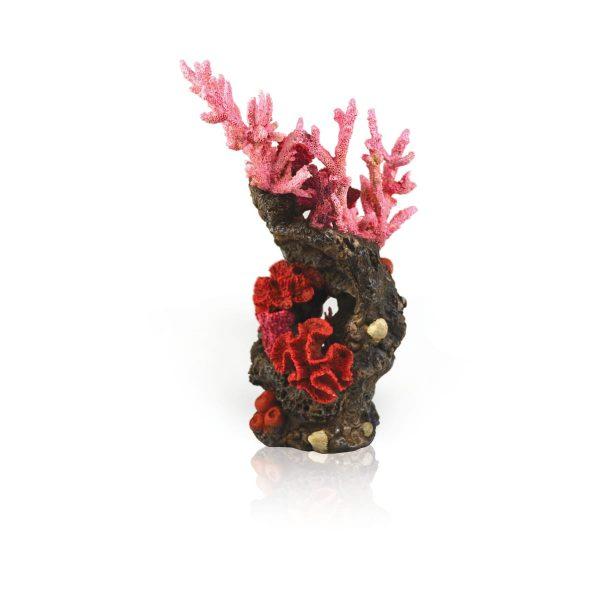 oase biorb aquarium decoration red reef ornament
