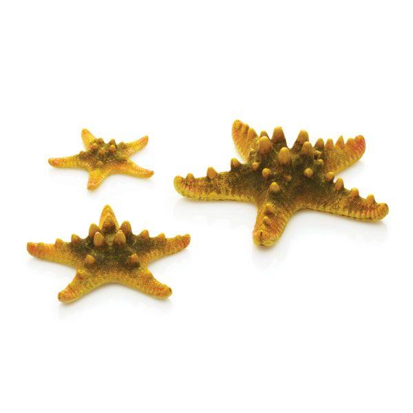 oase biorb aquarium decoration 3 star yellow