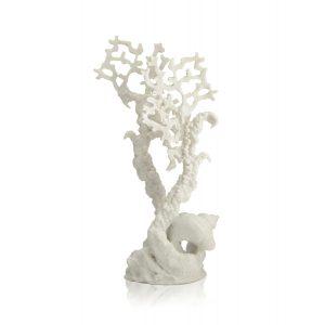 oase biorb aquarium sam baker decoration fan coral white