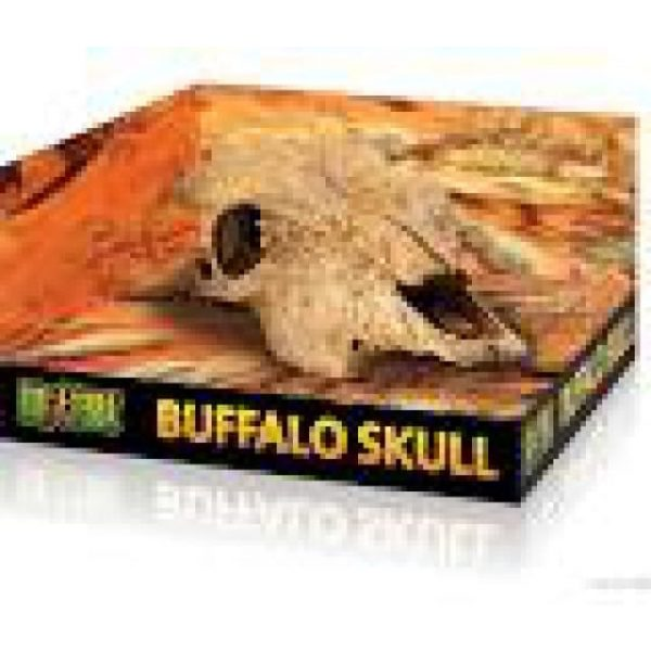 exo terra reptile Buffalo Skull Ornament