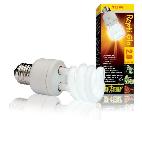 exo terra 2.0 13w Compact Lamp Repti Glo