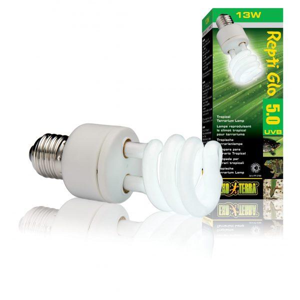 exo terra 5.0 13w Compact Lamp Repti Glo
