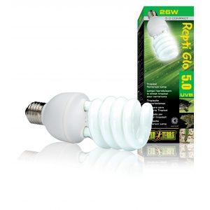 exo terra 5.0 25w Compact Lamp Repti Glo