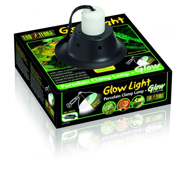 exo terra glow light reflector