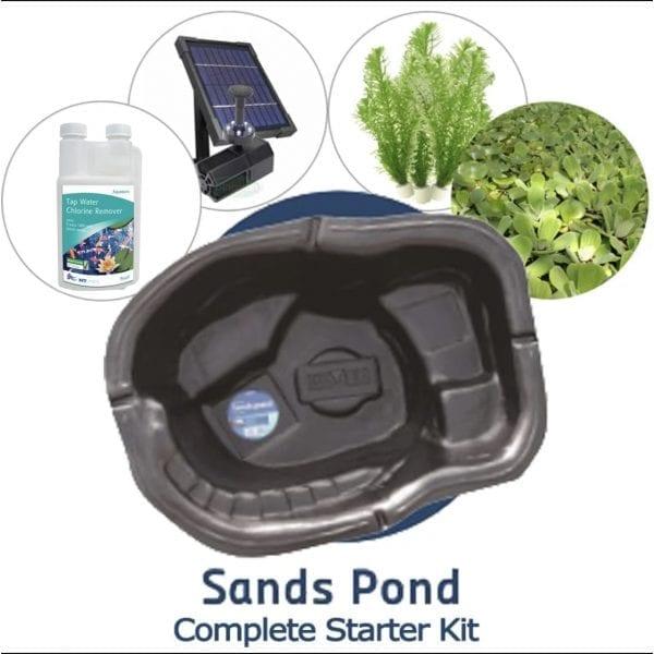 bermuda sands preformed pond starter kit