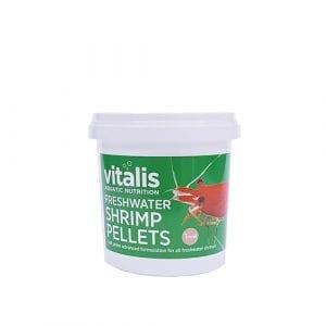 vitalis freshwater shrimp pellets
