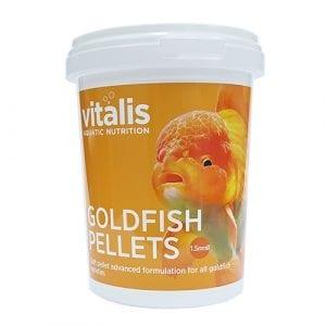 vitalis goldfish pellets food