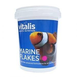 vitalis marine flakes marine food