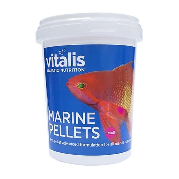 vitalis marine pellets marine food xs small