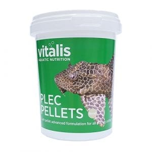 vitalis plec pellets freshwater tropical food
