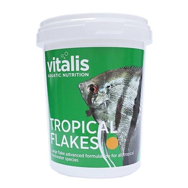 vitalis tropical flakes freshwater food