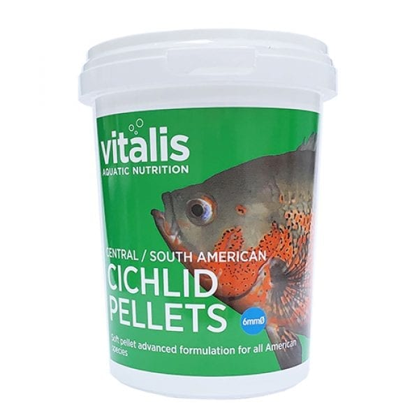 central south american cichlid pellets