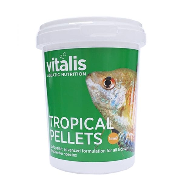 vitalis tropical pellets fish food