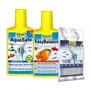 tetra april deal aquasafe with easybalance and 6 in 1 test kit