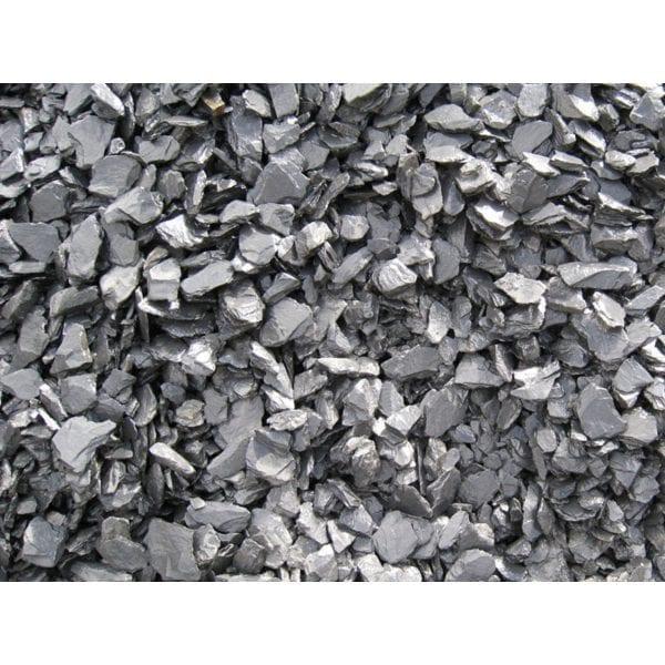 black slate outdoor decorative rock