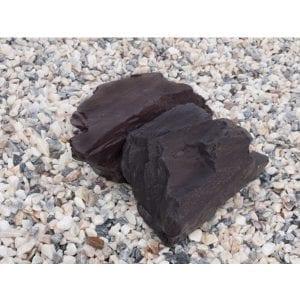 blue slate outdoor decorative rock