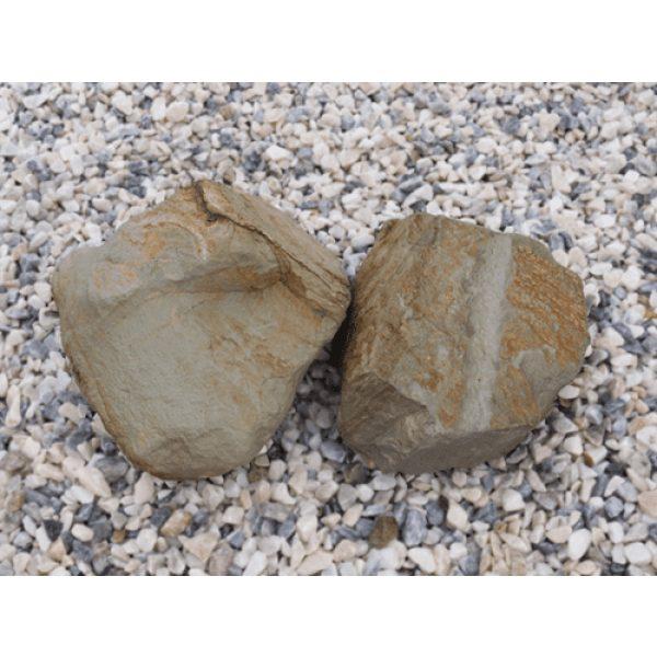 welsh gold outdoor decorative rock
