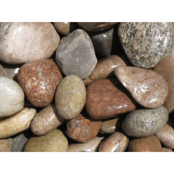 scottish pebbles outdoor decoration