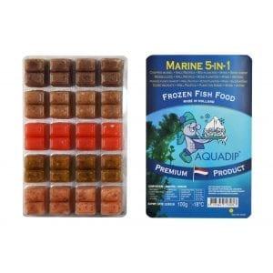 aquadip marine quintet 5in1 frozen blister pack food 100g