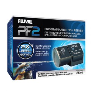 fluval pf2 programmable battery operated automatic fish feeder