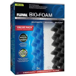 fluval biofoam sponge foam media value packs