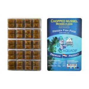 aquadip chopped mussel frozen blister pack 100g