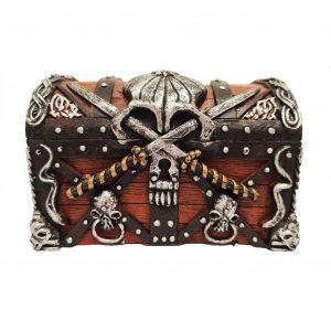 pirates treasure chest ornament