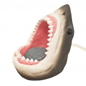 sharks mouth with airstone ornament