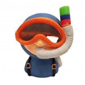 air action divers head ornament